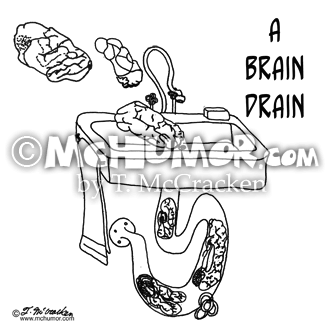 Brain Cartoon 0082