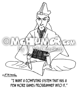 Computer Cartoon 0145