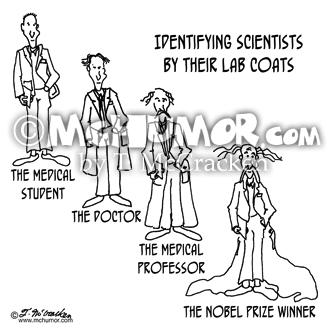 Scientist Cartoon 0779