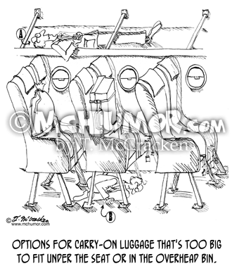 Luggage Cartoon 1005