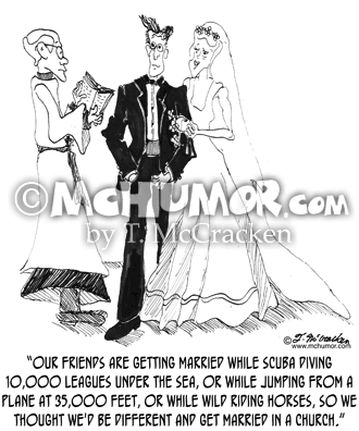 Wedding Cartoon 1018