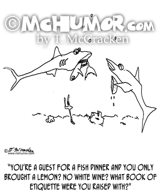 Shark Cartoon 1162