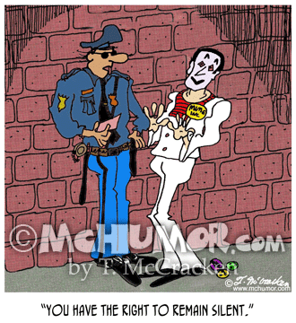 Police Cartoon 1364