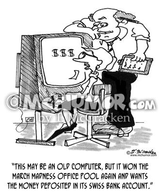 Swiss Bank Account Cartoons Page 3