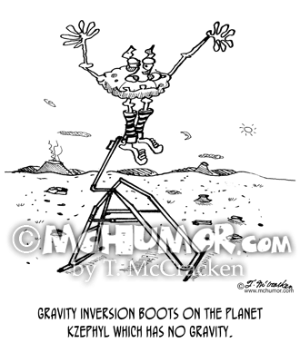 Gravity Cartoon 1669