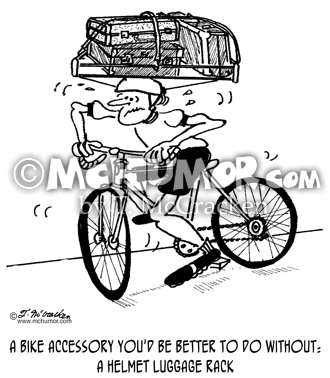 Bike Cartoon 1705