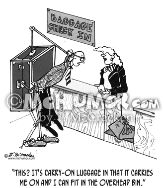 Luggage Cartoon 1806