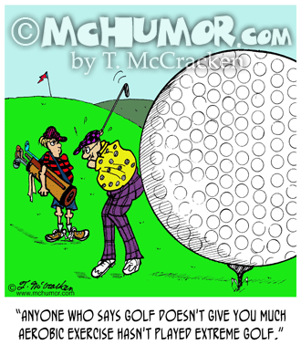 Golf Cartoon 2112