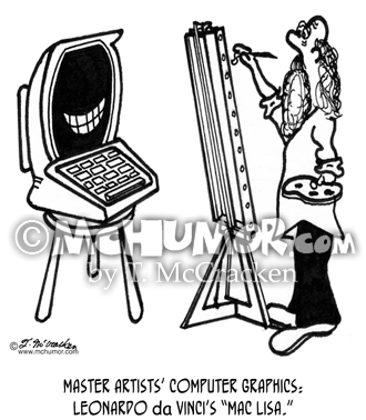 Computer Cartoon 2319