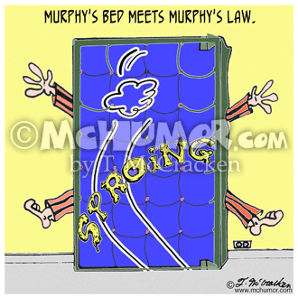 Murphy's Law Cartoon 2342