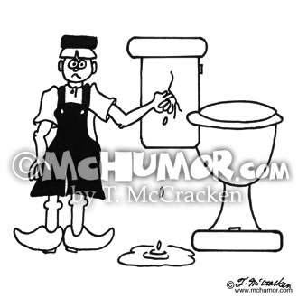 Plumbing Cartoon 2404