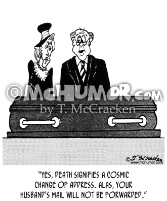 Funeral Cartoon 2464