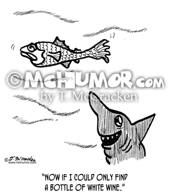 Shark Cartoon 2669