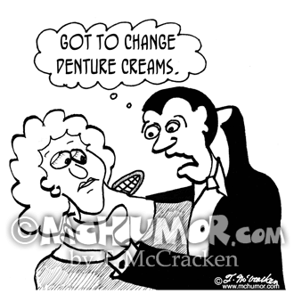 Denture Cartoon 2788