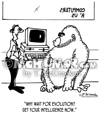 Evolution Cartoon 2839