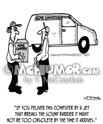 Computer Cartoon 2851