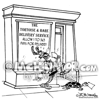 Delivery Cartoon 2913