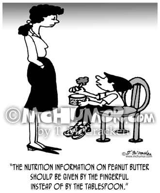 Nutrition Cartoon 3029