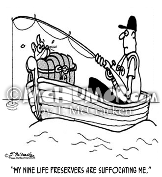 Fishing Cartoon 3057