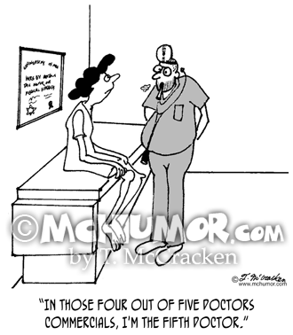 Medical Cartoon 3071