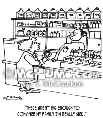 Pharmacy Cartoon 3115