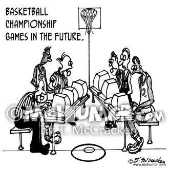 Basketball Cartoon 3254