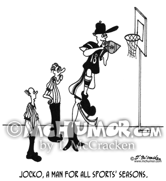 Sports Cartoon 3255