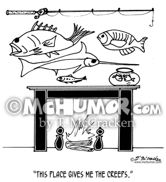 Fishing Cartoon 3386