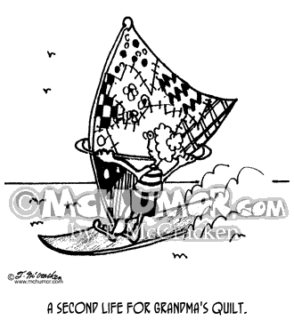 Wind Surfing Cartoon 3432