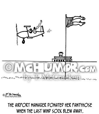 Airport Cartoon 3451