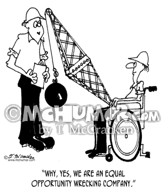 Disabled Cartoon 3504