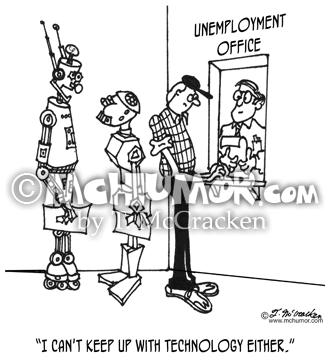 Unemployment Cartoon 3623