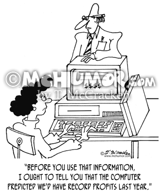 Computer Cartoon 3625