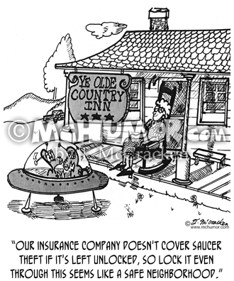 Insurance Cartoon 3384