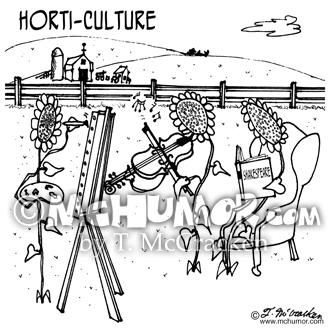 Horticulture Cartoon 3931