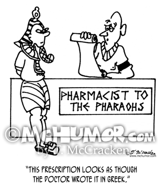 Pharmacist Cartoon 4050
