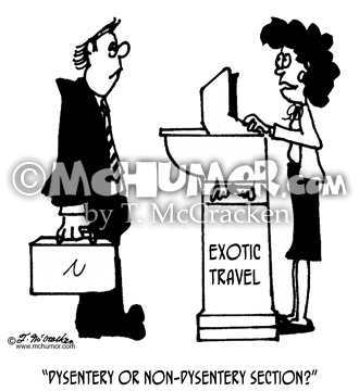 Travel Cartoon 4062