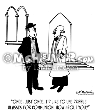 Pastor Cartoon 4160