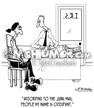 Junk Mail Cartoon 4167