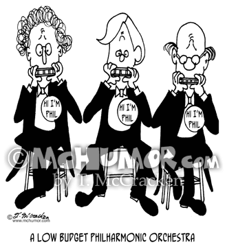 Orchestra Cartoon 4227