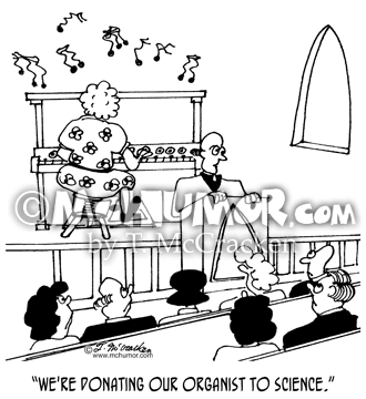 Organ Cartoon 4230