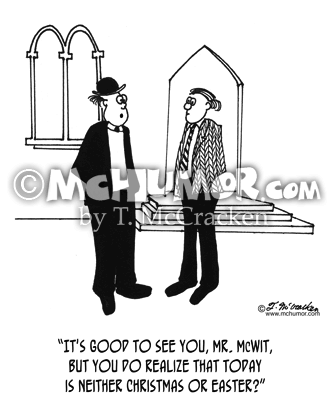 Church Cartoon 4245