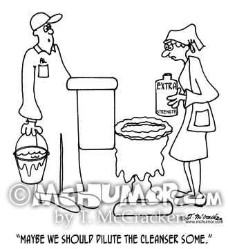Cleaning Cartoon 4301