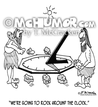 Sundial Cartoon 4319