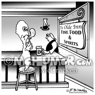 Bartending Cartoon 4335
