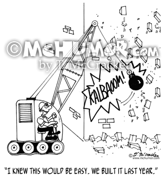 Demolition Cartoon 4408