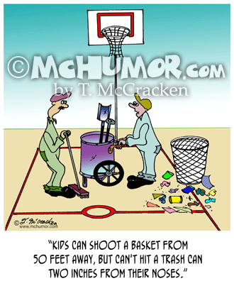 Basketball Cartoon 4443