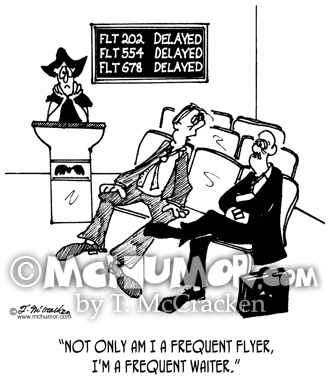 Frequent Flyer Cartoon 4532