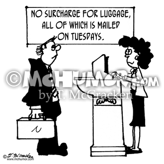 Luggage Cartoon 4587