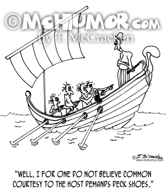 Boating Cartoon 4652